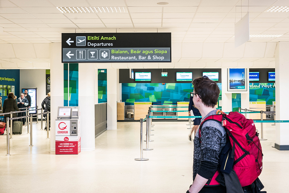 Map Of Ireland Knock Airport.Ireland West Airport
